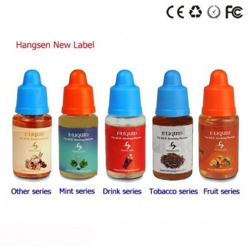 Pack de 5 e-Liquides 30ML 12 Mg Saveurs Différentes